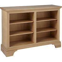 Neptune Henley 4ft Wine Rack / Bookcase, Oak