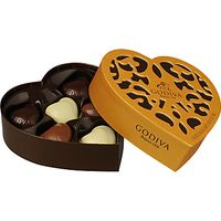 Godiva Coeur Iconique Chocolate Box, 65g