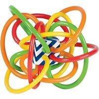 The Manhattan Toy Company Colour Burst Winkel Rattle