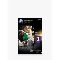 HP Q8692A Advanced Glossy 10x15 Photo Paper, 100 Sheets