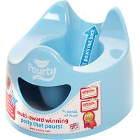 Pourty Potty, Blue