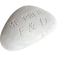 Personalised Be Mine Sentiment Stone