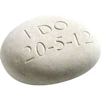 Personalised I Do Wedding Stone
