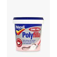 Polycell DIY One Fill Polyfilla, 600ml