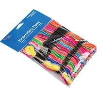 Embroidery Floss, 36 Skeins, Rainbow