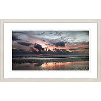 David Purdie - Red Sunset Framed Print, 67 x 107cm