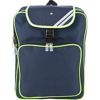 Junior Reflective Backpack, Navy