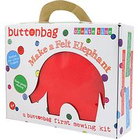 Buttonbag Starter Kit, Elephant