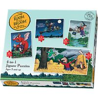 Room On The Broom Jigsaw Puzzles, Box of 4