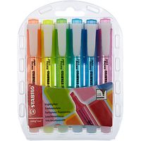 Highlighters, Pack of 6