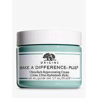 Origins Make A Difference Plus+ Ultra-Rich Rejuvenating Cream, 50ml