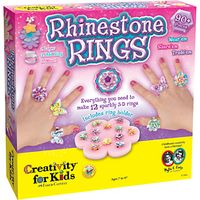 Creativity for Kids Rhinestone Rings Set