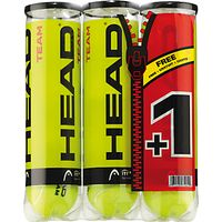 Head Team Tennis Balls, 3 x Pack of 4