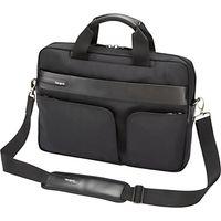 Targus Lomax 13.3 Ultrabook Topload Messenger Bag, Black
