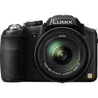 Panasonic Lumix DMC-FZ200 Bridge Camera, HD 1080p, 12.1MP, 24x Optical Zoom, 3 LCD Flip Screen, Black