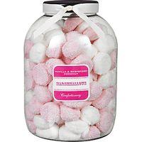 Farhi Vanilla and Raspberry Coconut Marshmallows Jar, 1kg