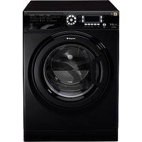 Hotpoint WDUD9640K Washer Dryer, 9kg Wash/6kg Dry Load, A Energy Rating, 1400rpm Spin, Black