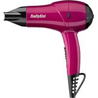 BaByliss Nano Travel Hair Dryer 1200, Pink