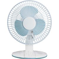 NSAUK DF-2331 White Desk Fan, 9 Inch