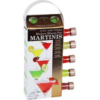 The Modern Cocktail Martinis Mixers, Pack of 5