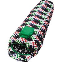 Outwell Batboy Sleeping Bag, Black/Green