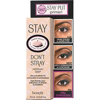 Benefit Stay Dont Stray Stay-Put Primer for Concealers & Eyeshadows, Medium/Deep