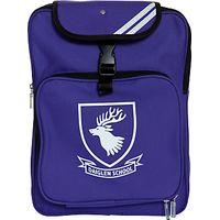 Daiglen School Unisex Backpack, Purple