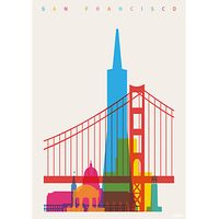 House by John Lewis, Yoni Alter - San Francisco Unframed Print, 40 x 30cm