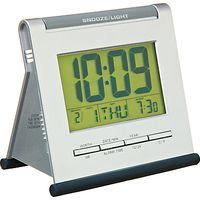 Acctim Apex Smartlite LCD Alarm Clock, Silver