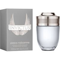Paco Rabanne Invictus Aftershave Lotion, 100ml