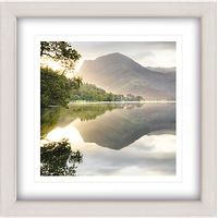 Mike Shepherd - Sunrise On Butter Framed Print, 65 x 65cm