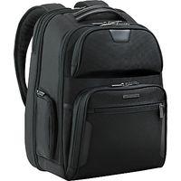 Briggs & Riley Clamshell 17 Laptop Backpack, Black