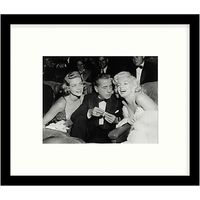 Getty Images Gallery Star Trio Framed Print, 49 x 57cm
