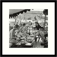 Getty Images Gallery Lunch Time Framed Print, 59 x 59cm