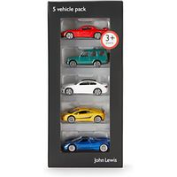 John Lewis Vehicles, Pack of 5