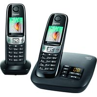 Gigaset C620A Digital Telephone and Answer Machine, Twin DECT