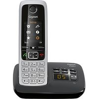 Gigaset C430A Digital Cordless Telephone and Answer Machine, Single DECT