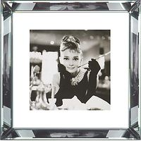 Brookpace, The Manhattan Collection - Breakfast at Tiffanys Framed Print, 46 x 46cm