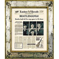 Brookpace, The Versailles Collection - Beatlemania Framed Print, 55 x 45cm