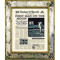 Brookpace, The Versailles Collection - First Man on the Moon Framed Print, 55 x 45cm
