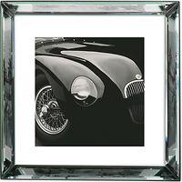Brookpace, The Manhattan Collection - Jaguar C-Type Framed Print, 57 x 57cm