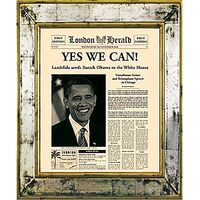 Brookpace, The Versailles Collection - Yes We Can Framed Print, 55 x 45cm