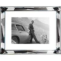 Brookpace, The Manhattan Collection - James Bond Aston Martin Framed Print, 67 x 87cm