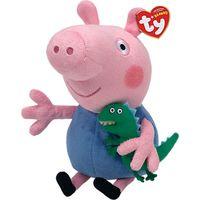Ty Peppa Pig George Beanie Baby, 15cm