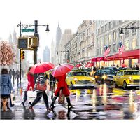Richard Macneil - New York Shopper Print on Canvas, 70 x 100cm
