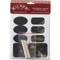Kilner 24 Chalk Labels Set