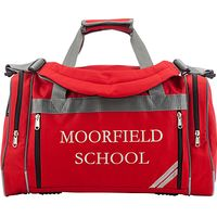Moorfield School Holdall, Red
