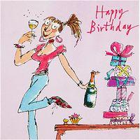 Woodmansterne Girl Birthday Card
