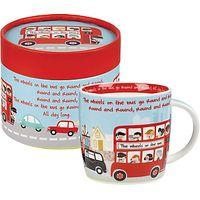 Churchill Wheels on the Bus Mug in a Box
