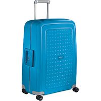 Samsonite SCure 4-Wheel 75cm Large Suitcase, Pacific Blue